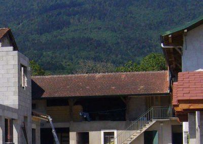 Rénovation d'un corps de ferme, Saint-Jean de Gonville