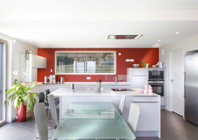 Aménagement d'une cuisine à Saint-Jean-de-Gonville dans l'Ain