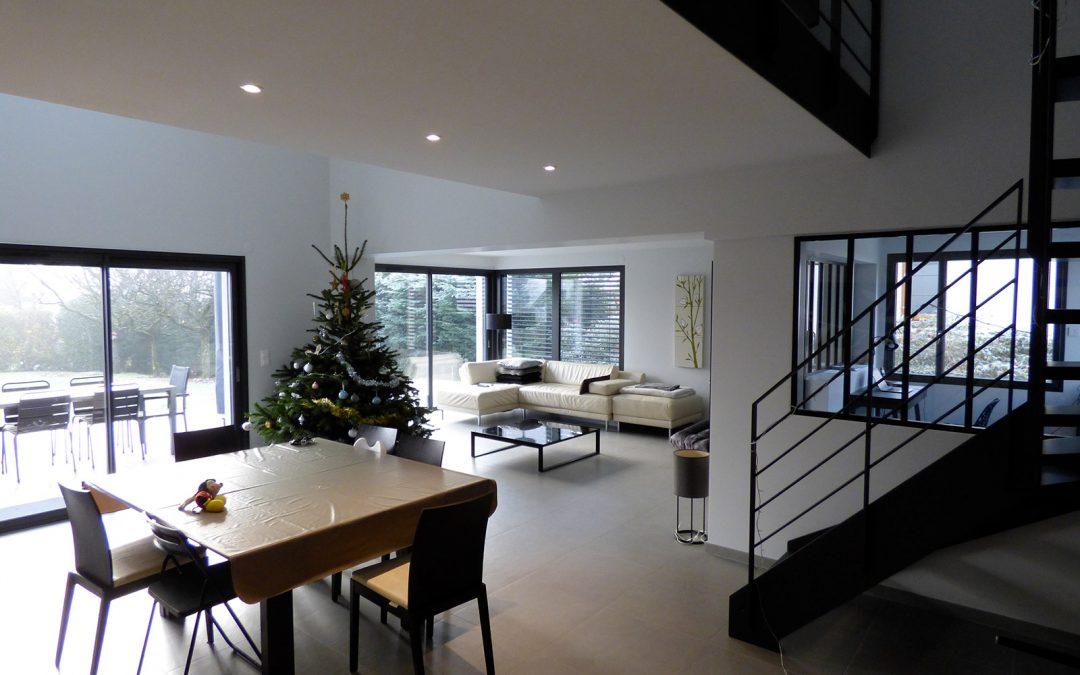 Rénovation d'une maison, Divonne-les-Bains