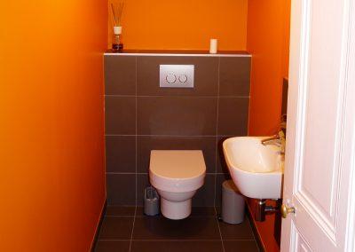 Rénovation de toilettes à Pougny