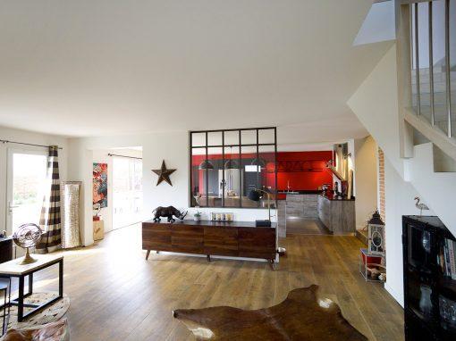 Rénovation d'une maison, Gex