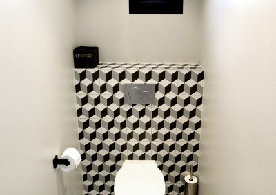 Rénovation de toilettes à Saint-Genis-Pouilly