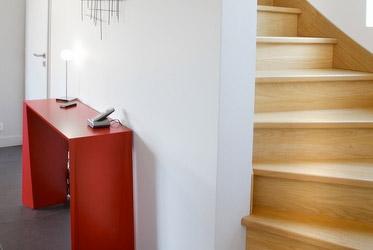 Réalisation des aménagements intérieurs tout corps d'état dans une maison en ossature bois