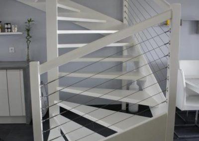 Modernisation d'un escalier à Prévessin-Moëns